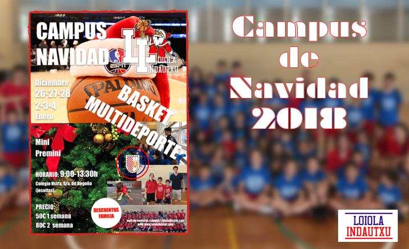 Campus de Navidad 2018