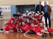 ¡Campeones de Euskadi cadetes!